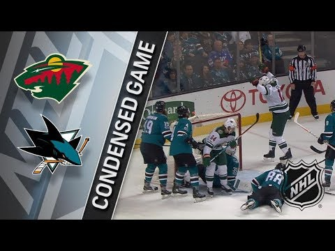 Minnesota Wild vs San Jose Sharks – Dec. 10, 2017 | Game Highlights | NHL 2017/18. Обзор матча