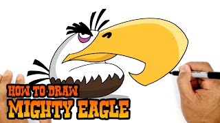 How to Draw Mighty Eagle | Angry Birds