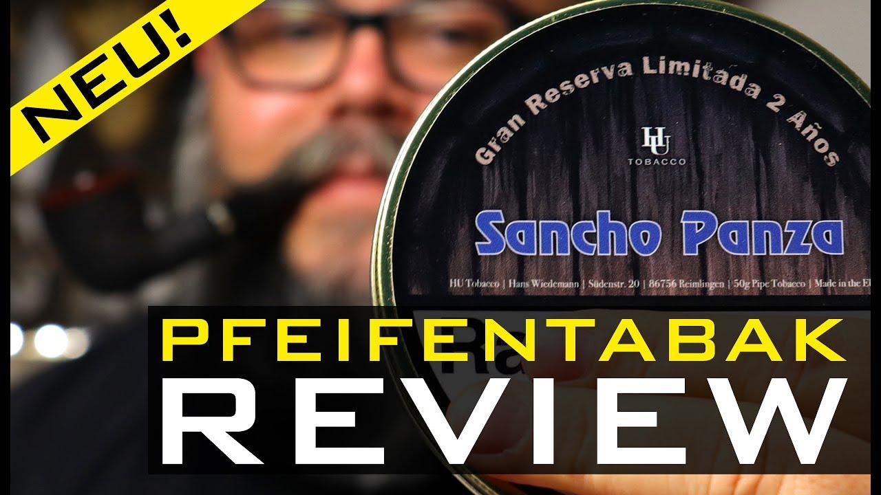 Pfeifentabak Review 🍂 - HU TOBACCO - GRAN RESERVA - SANCHO PANZA (🇬🇧 Subtitles)