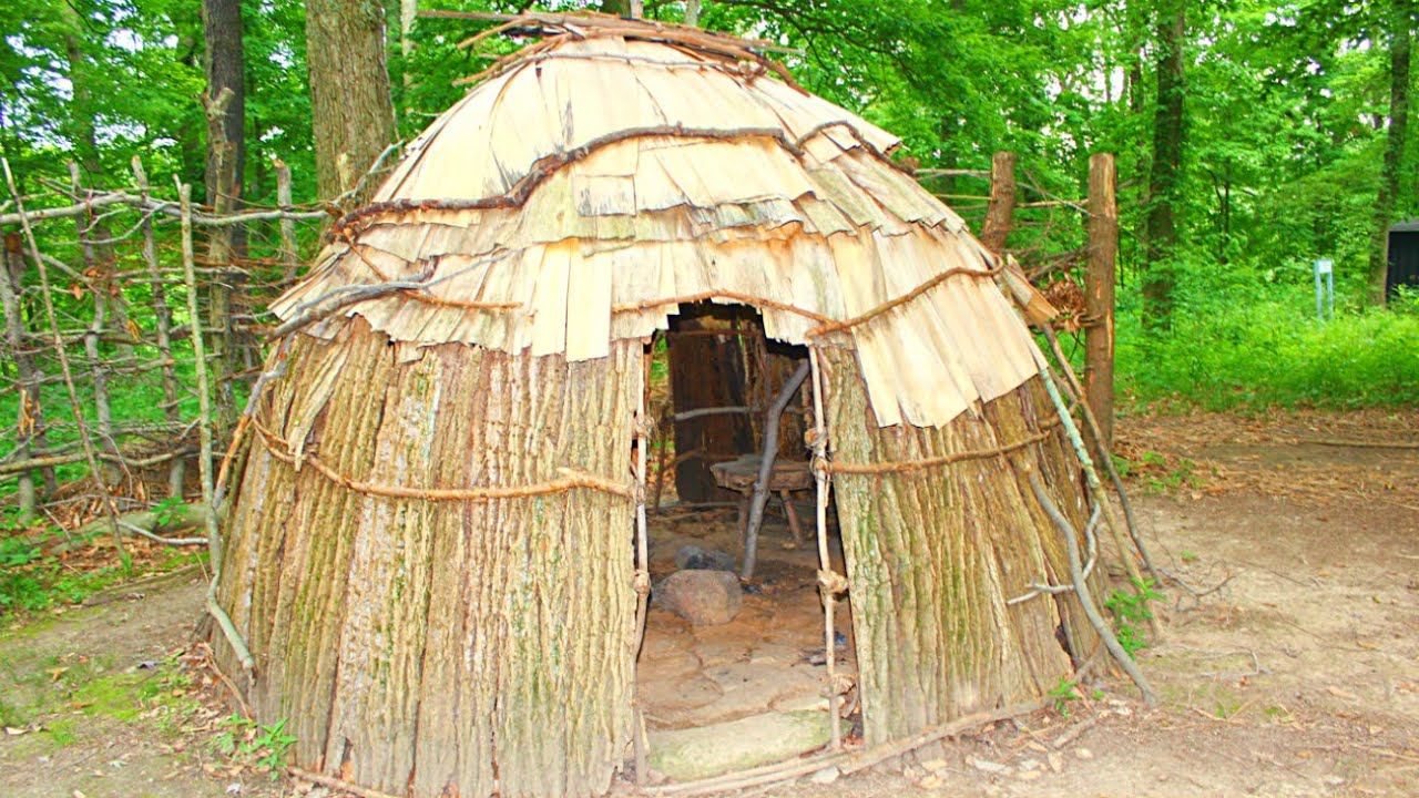 Ancient Native American Homes Youtube