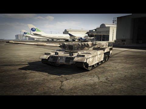 Grand Theft Auto V  Rhino Tank LOCATION, MICHAEL