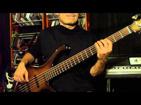 blues molowy 2 - gitara basowa z tak zwanym backing track