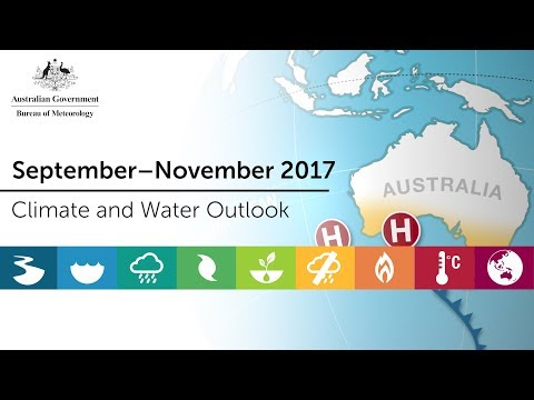 Climate and Water Outlook, September–November 2017