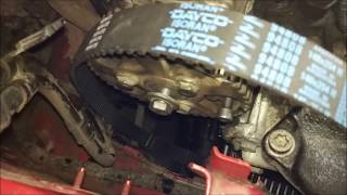 Замена Ремня ГРМ Peugeot Citroen 1.9d DW8 Метки ГРМ