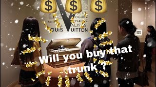 Just went to Louis Vuitton to check if they have affordable Trunk, ...