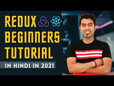 Complete Redux Tutorial in Hindi in 2021
