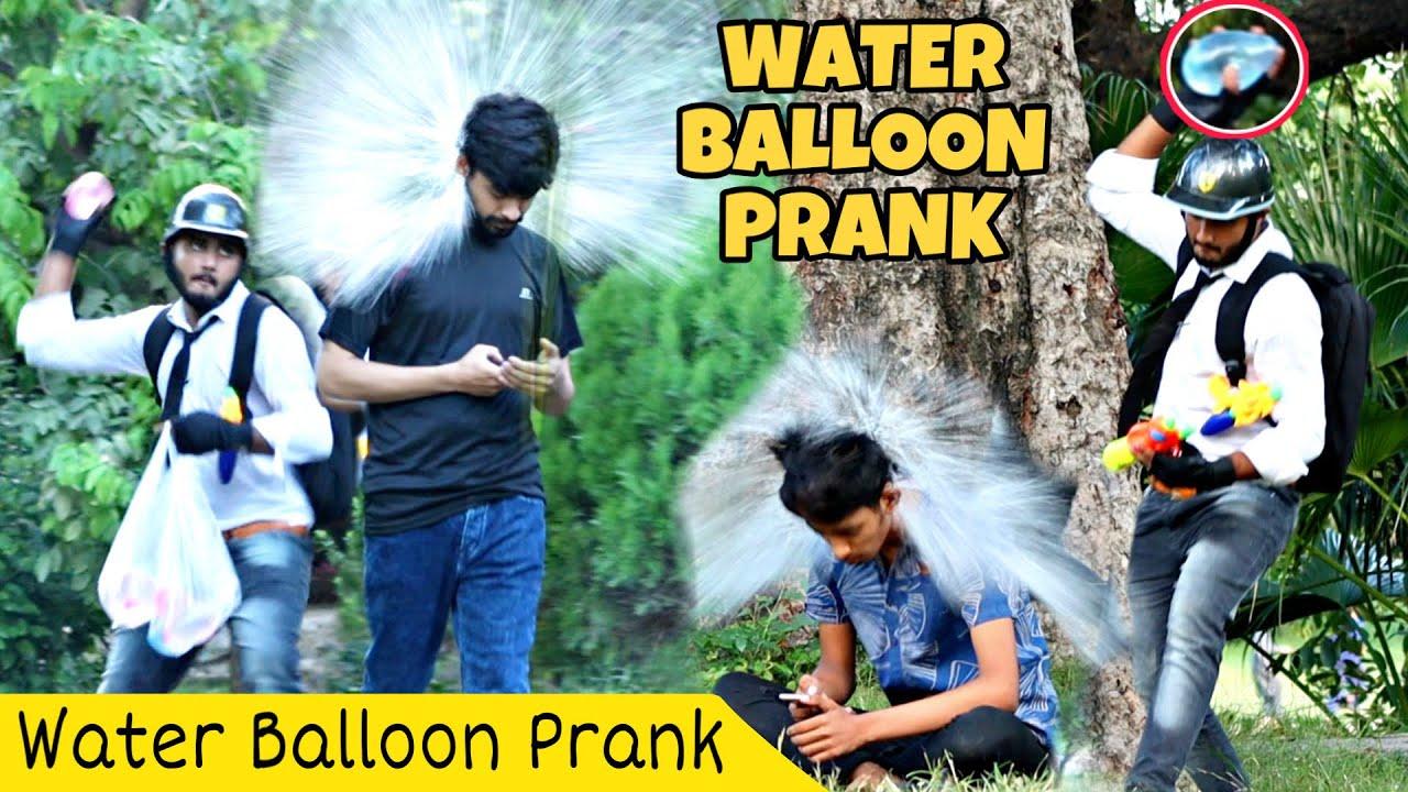 Water Balloon PUBG Prank@That Was Crazy