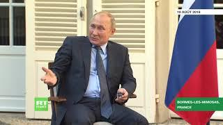 Vladimir Poutine : « Comment pourrais-je revenir dans une organisation qui n'existe pas ? »
