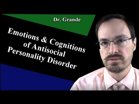 What Are The Emotional And Cognitive Characteristics Of Antisocial Personality Disorder?