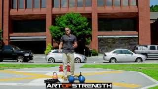 Art Of Strength - Enter The Kettlebell Workout Training Book