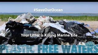 #SaveOurOcean - Your Litter is Killing Marine Life