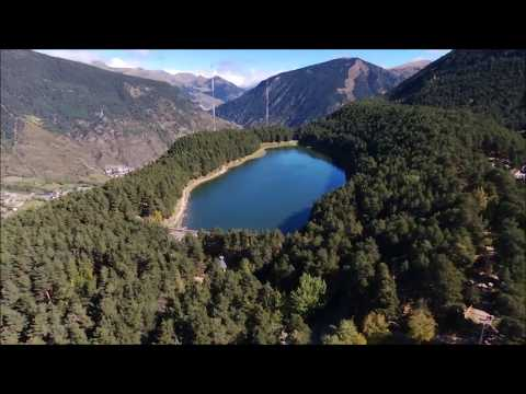 Pyrenees Mountains And Nature- HD Drone Film- Andorra Landscapes