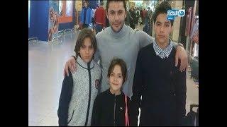 نمبر وان | شاهد لاول مرة ظهور اولاد الصقر احمد حسن و تعليق علي ظهورهم