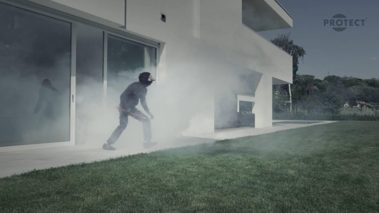 PROTECT Security fog: Demo of a break-in in a private ...
