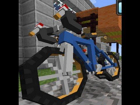 PokeCycle - Мод на велосипед для Minecraft 1.6.4/1.6.2 ...
