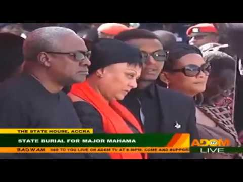 State burial for Major Mahama in Accra - Part 1