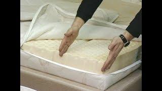 видео Купить матрас для кровати - цена на пружинный, размеры двуспальной