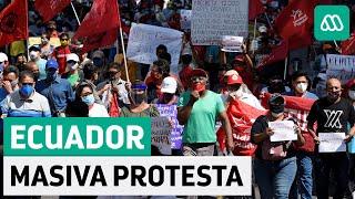 Ecuador | Masivas protestas por medidas de gobierno de Lenín Moreno