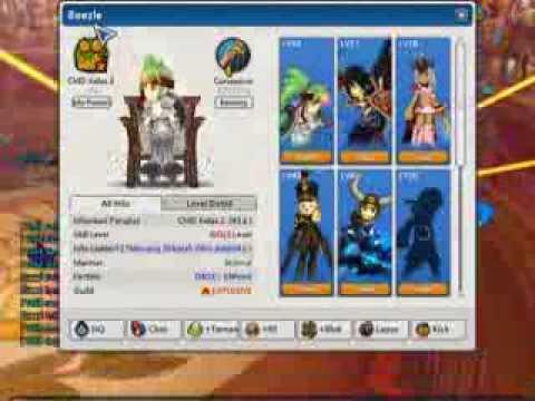 LostSaga CMD Pengguna NetCut Di Ladder (Beezle) Part 2