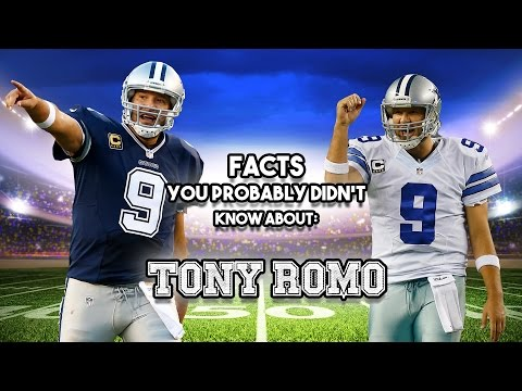 20 AWESOME Facts You Probably Didn't Know About Tony Romo