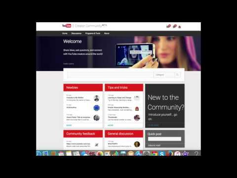 YouTube Creator Community BETA .... YouTube Tips & Tricks etc