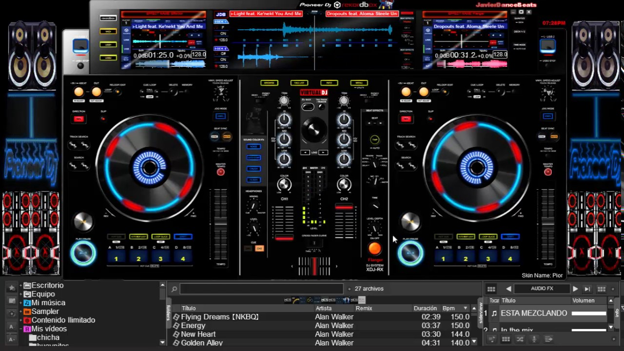 virtual dj skins pack zip