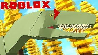 "Dinosaur Simulator (Roblox)-carnivorous dinosaur, hunting ""Allosaurus""-(#32) (Gameplay EN-BR)"