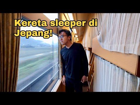 Japan Sleeper Train : Tokyo to Izumo with Sunrise Express!