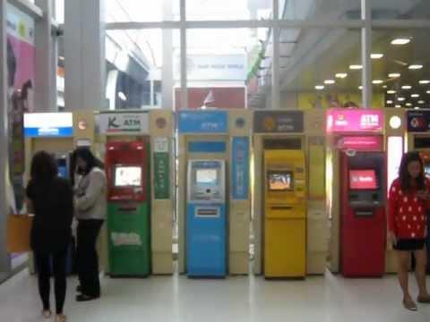 Assorted Thai ATM's in Bangkok - bk-banks-assortedatmsasleadin