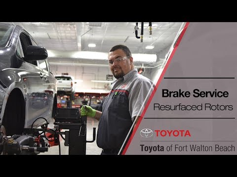 Cleaning up some rusty rotors | Toyota of Fort Walton Beach