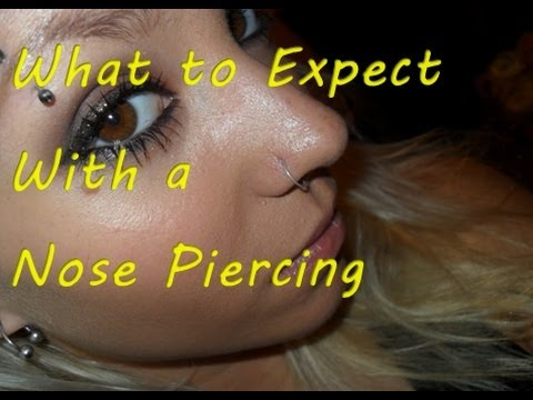 What to expect with a nose piercing youtube ccuart Images
