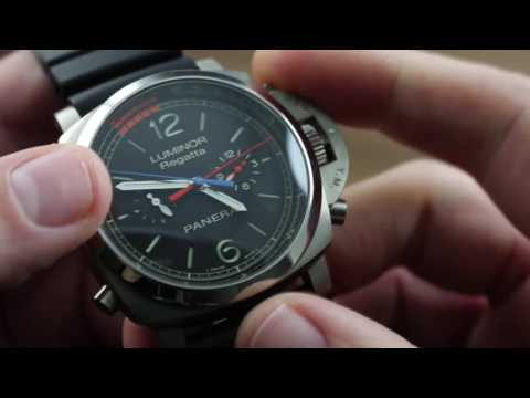 Panerai Luminor 1950 Regatta 3 Days Chrono Flyback Automatic Titanio PAM 526 Showcase Review