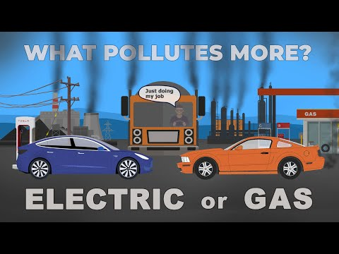 EV or Gas, What Pollutes More?