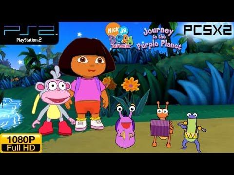 Dora The Explorer Journey To The Purple Planet Ps2