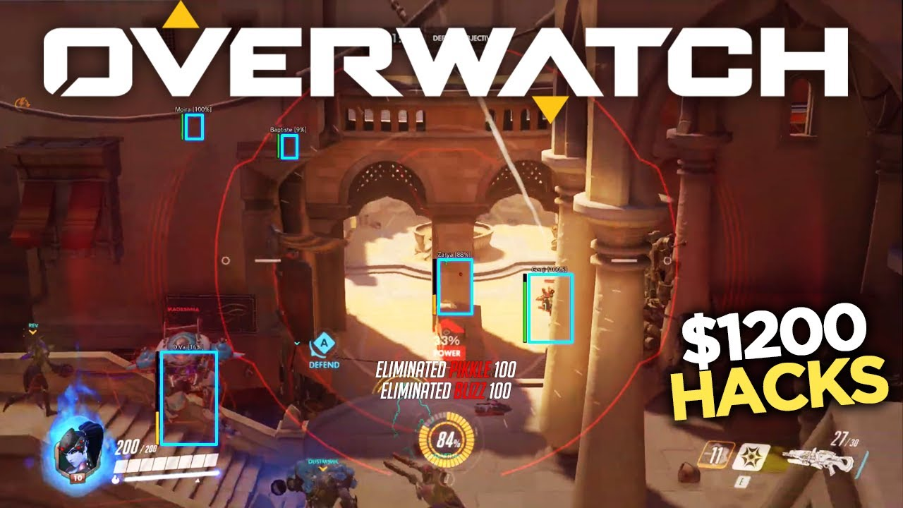 Image result for overwatch aimbot