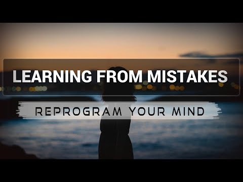 Learning from Mistakes affirmations mp3 music audio - Law of attraction - Hypnosis - Subliminal