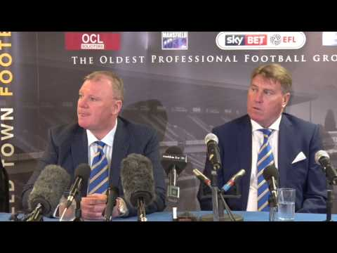 News conference: Stags appoint nine-time promotion winner Steve Evans as new manager