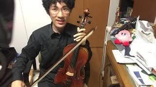 ヴィオラの名称や構え方の説明  ヴァイオリンと多少異なります! thumbnail