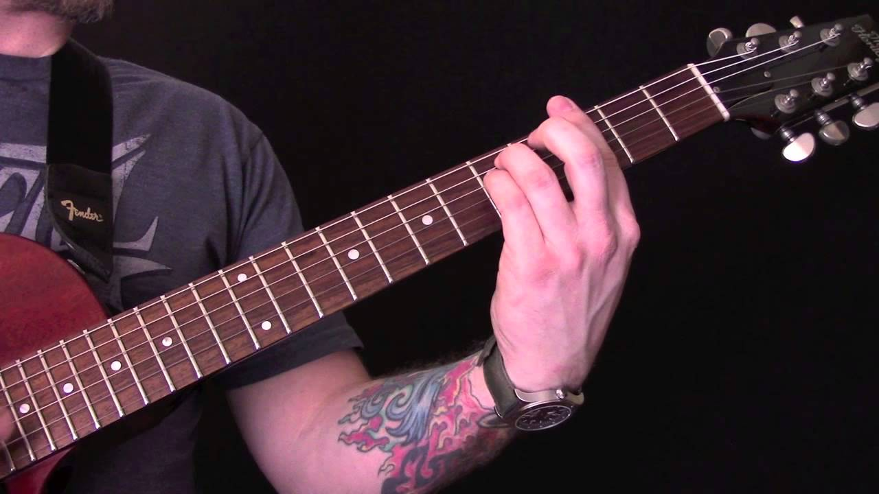 Aint No Rest For The Wicked Guitar Tutorial By Cage The Elephant