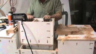 Crazy Diy Router Machine For Mortise And Tenon. Fast Fast Fast!!