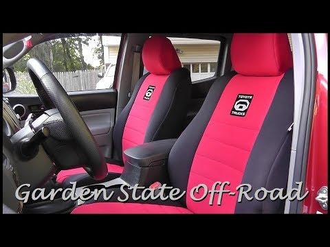 Toyota Tacoma Double Cab: Wet Okole Seat Covers