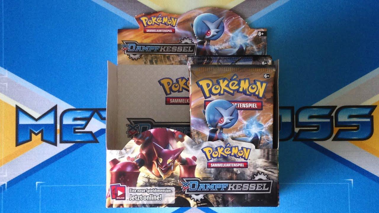 XY Dampfkessel Display Opening Teil 2 von 2 Pokemon TCG Deutsch ...