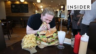 sandwich eating challenge
