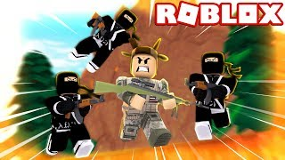HUNTED IN ROBLOX! (ROBLOX BATTLEGROUNDS)