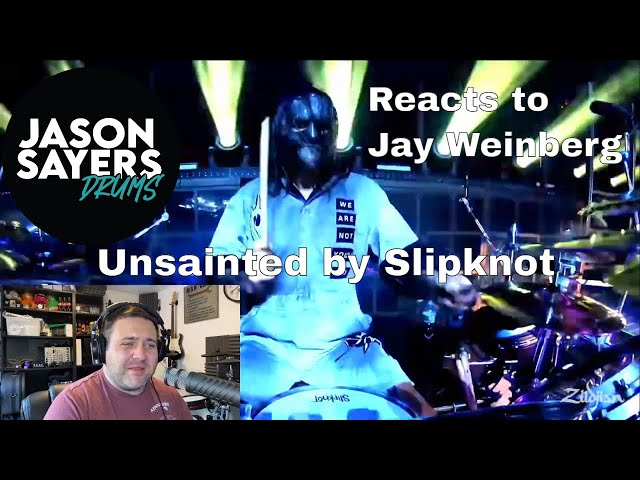 Drummer reacts to Jay Weinberg -  Unsainted - Slipknot