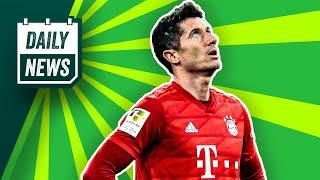 Lewandowski fehlt FC Bayern 4 Wochen! Tousart & de Bruyne schocken Juventus & Real Madrid!