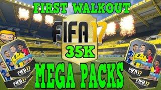 FIFA 17 FUT Opening 35K MEGA Packs First Walkout!!