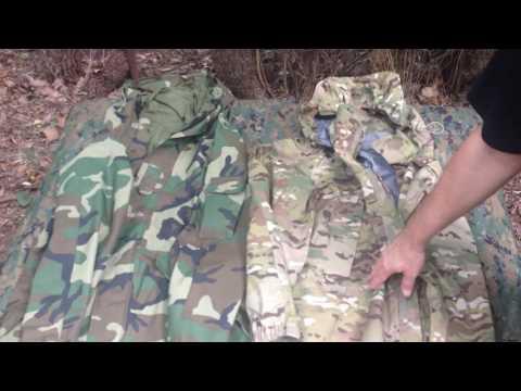GEN I Vs GEN III U.S. Military ECWCS Parka