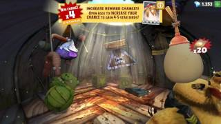 Angry Birds Evolution: Hatching 31 premium eggs and unlocking Captain Freedom