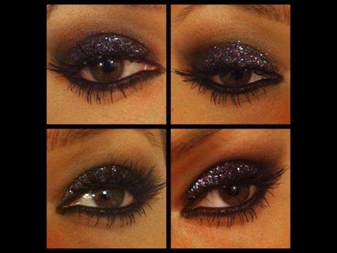 Glittery Eyes Make-Up Tutorial (Rockstar Eyes) | Shonagh Scott | ShowMe MakeUp